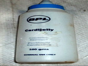 Bpl ECG Gel  -250 ml Each-2 pics (500ml)