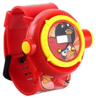 Angry Bird  Kids Projector Watch 24 Images