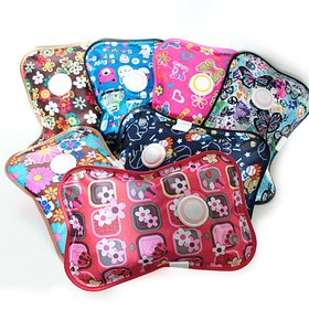 New and Attractive Warm Bag Electric Heating Gel Pad Rechargeable Portable Hot Water Bag ( Multicolor )