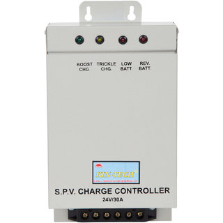KIN-TECH 24V/30A PWM SOLAR CHARGE CONTROLLER WITH LOAD