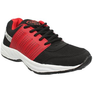 7808602d19d3 Buy LANCER MEN BLACK RED COLOR COMFORTABLE Training Shoes FOR MEN (HYDRA  37) Online - Get 10% Off