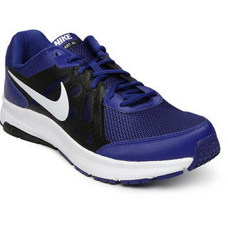 Nike Men Blue Navy Lace-up Running Shoes