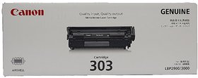 Canon 303 O RIGINAL Black Toner Cartridge