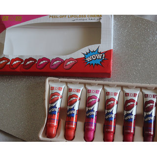 ADS Peel-off Lipgloss (PACK OF 6).