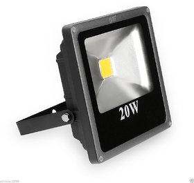 Best Ideas 20 Watts DC Flood Light With Free Ac to Dc Adapter (Just Connect The Adapter  Use Direct With Electricity)