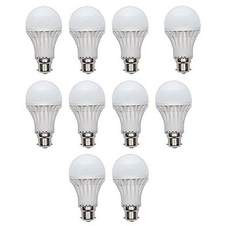 Combo of 10 LED Bulbs ( 7W )