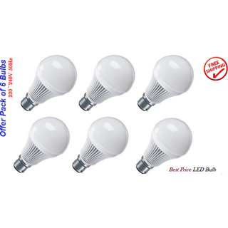 LED Bulb 5W (6pcs.x5W LED bulbs) Combo Offer best price