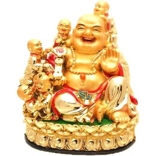 ReBuy Laughing Buddha With Children For Happiness