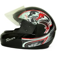 Zokar Racer Full Face Helmet With ISI Mark