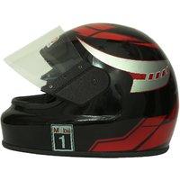 Zokar Kimi Full Face Helmet Red