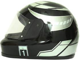 Zokar Kimi Full Face Helmet Black