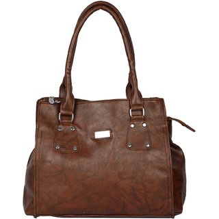 Exotique Women's Brown  Handbag (HW0007BR)