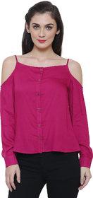 Tshirt Company Solid Rayon Top