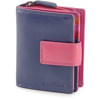 Calfnero Women Leather clutch wallet