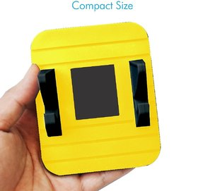 Portronics POR-816 Pivot II Rubber Mat Mobile Holder(Yellow)