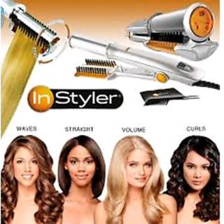 Hair Instyler Rotating Rollers Hair Styler Kit Curler Straightener Curling Iron