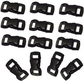 Futaba 10mm Curved Side Release Buckles Curved Clasp Strap Webbing - Pack of Ten