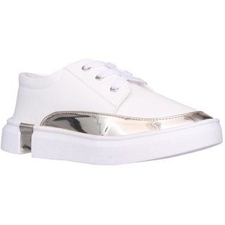Clymb LS-11 White Sneaker Shoes For Women's In Various Sizes