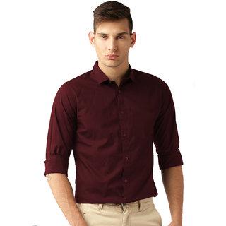 197a0b9101c Buy Van Galis Fashion wear Red Formal Shirt For Men Online - Get 55% Off