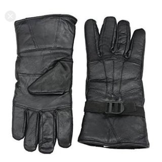 EXCLUSIVE leather hand gloves