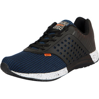 Sparx Mens Black Navy Sports Running Shoes