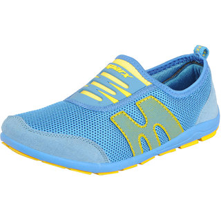 Sparx Womens Blue Yellow Sports Running Shoes