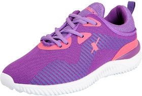 Sparx Women's Purple White Sports Running Shoes