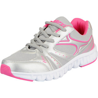 Sparx Womens Silver Pink Sports Running Shoes