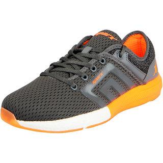Sparx Mens Grey Orange Sports Running Shoes