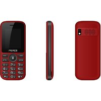 Peace P4 Red Black, 1.8 Inch, Dual Sim Mobile Phone Wit