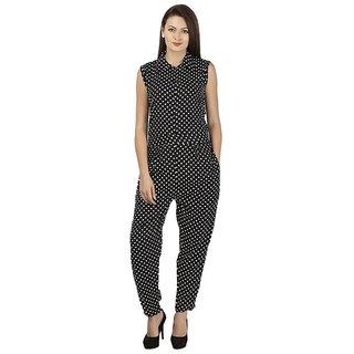 a14795efe374 Buy Shree Wow Black Dot Jumpsuit Online - Get 65% Off