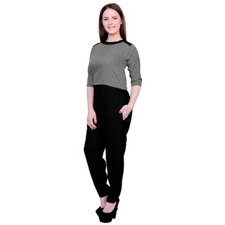 Shree Wow Chess Upper Crepe Jumpsuit