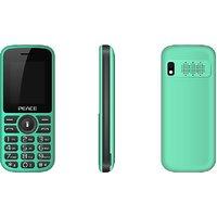 Peace P4 Green Black, 1.8 Inch, Dual Sim Mobile Phone W