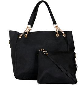 Zornna Black Stylish Handbag