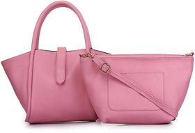 Zornna Pink Stylish Handbag