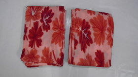 Wollen Razai Cover (Red Print Single Bed Set)