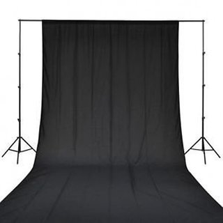 8 x12 FT BLACK LEKERA BACKDROP PHOTO LIGHT STUDIO PHOTOGRAPHY BACKGROUND