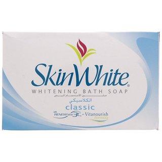 Skin White Whitening Bath Soap Classic 135g (Pack of 1)
