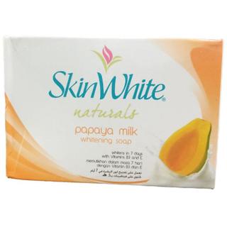 Buy Skin White Natural Papaya Milk Whitening Soap 125g (Pack Of 1) Online -