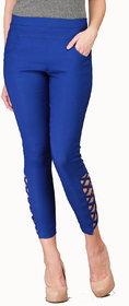 Makxziya Women's Blue Jeggings