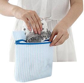 Futaba Laundry Washing Bag Protect Wash Bag Coarse Mesh - Blue