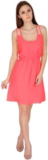 22nd Street Pink Polyester Dress for Women