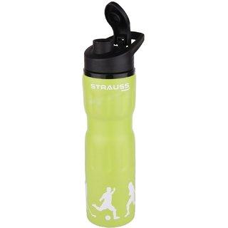Strauss Stainless-Steel Water Bottle 750ml (Green)