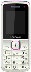 Peace Knight White Pink, 1.8 Inch, Dual Sim Mobile With