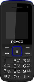 Peace Knight Black Blue, 1.8 Inch, Dual Sim Mobile With
