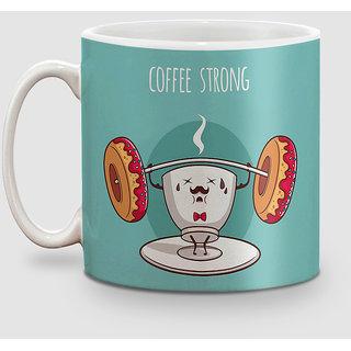 Splendid Creation Coffee strong Coffee Mug - 325 ml