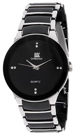 Iik Collection Round Dial Black Analog Watch For Men - 132093715