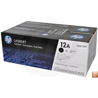 hp 12a dual pack toner cartridge