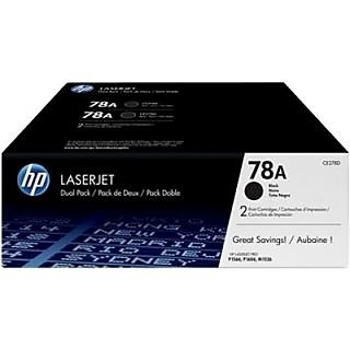 HP 78A Black Dual Pack LasetJet Toner Cartridge (Dual Pack)