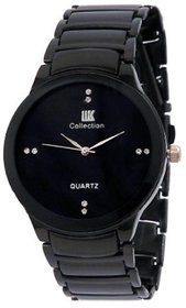 Iik Collection Round Dial Black Analog Watch For Men - 132094037